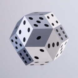 Four dimensional dice